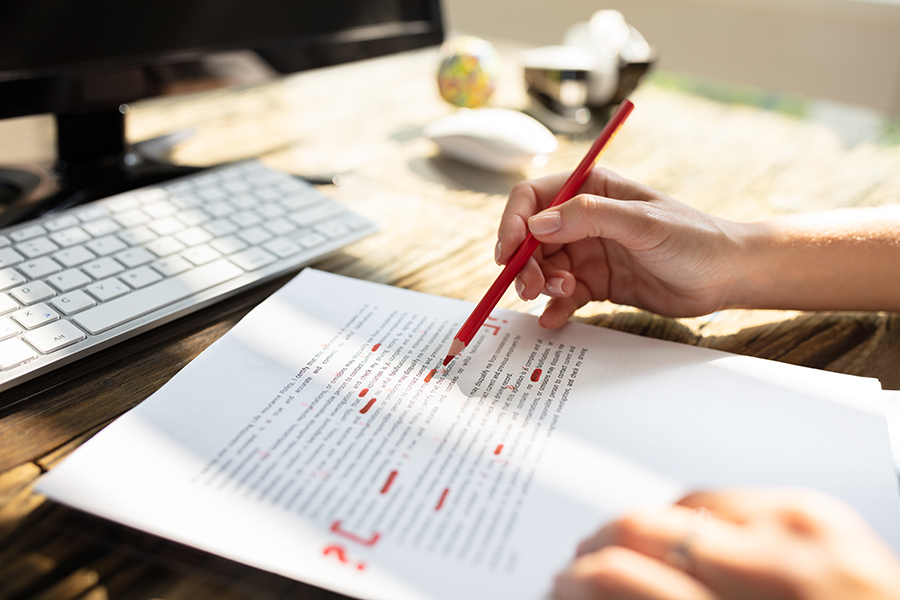 JARGON-BUSTING: What's the difference between editing, copy-editing and proofreading?