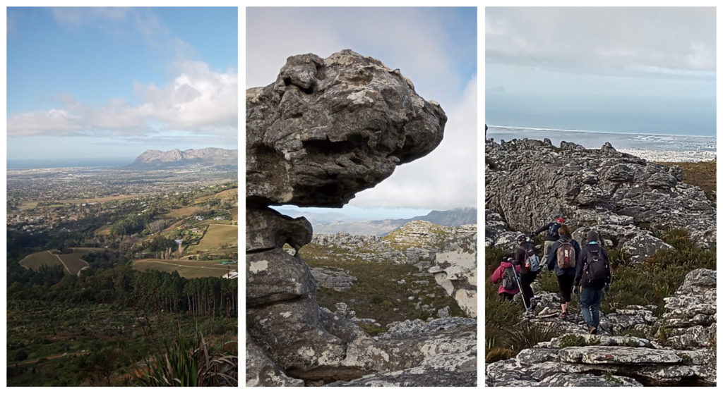 """3 images from the 3 of the """"13 Peaks"""" in the Western Cape"""